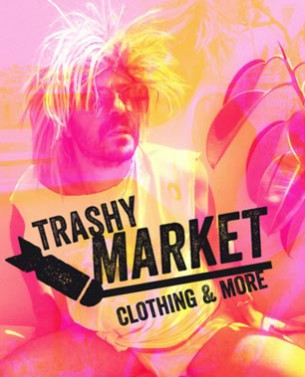Flyers for Trashy Market (Flea Market for Clothing)